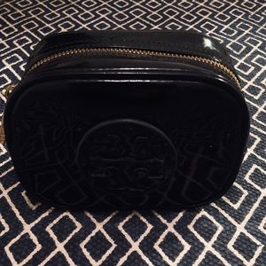 Tory Burch Patent Leather Makeup Case